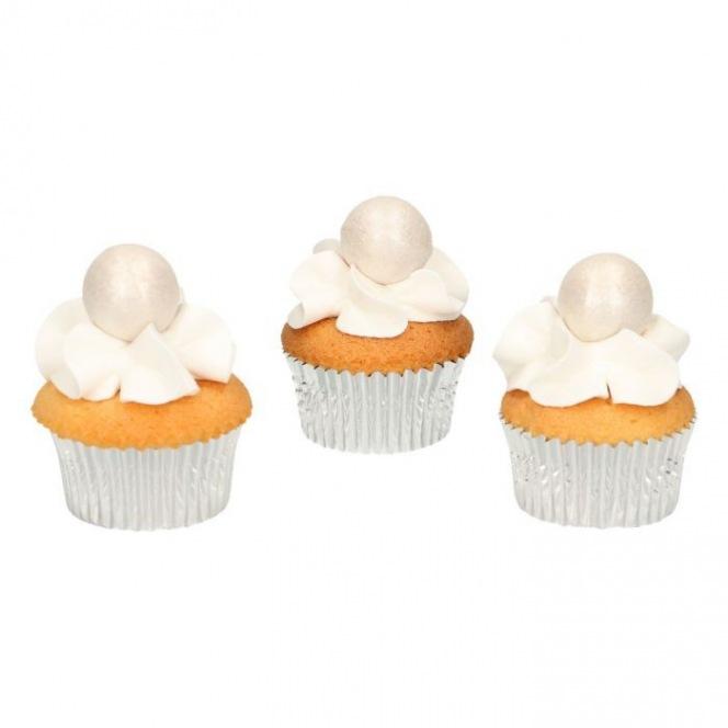 Pearl Choco Balls x8 - Pearl - Funcakes