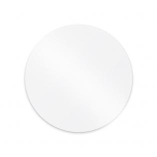 Set of 2 Round Acrylic Ganache Plates  Ø 18,30 cm