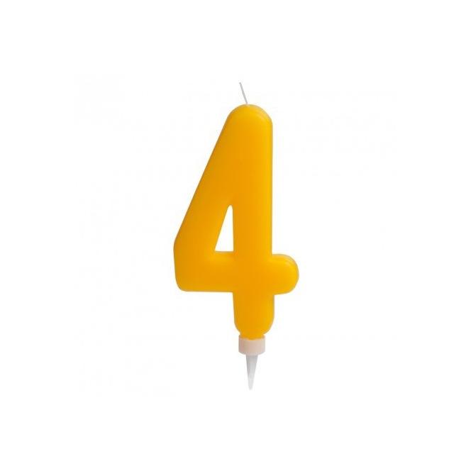 """Giant Candle """"4"""" - Dekora"""