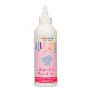 Choco Drip Pearl Silver - Funcakes