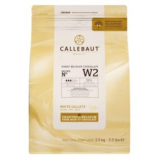 Callebaut White Chocolate Callets 2,5kg