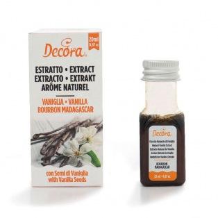 Vanilla Bourbon Madagascar Extract - Decora 20ml