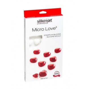 Silicone Mould - Micro Love 5 - Silikomart