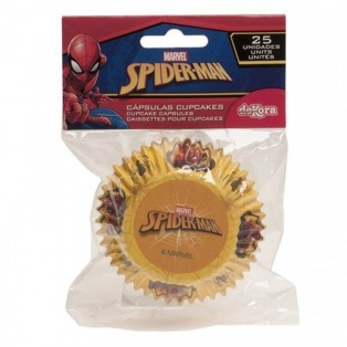 25 Baking Cups - Spiderman