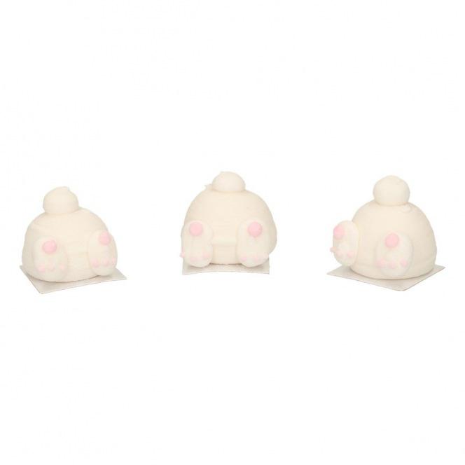 Sugar Decorations - Bunny Butts - 3pcs