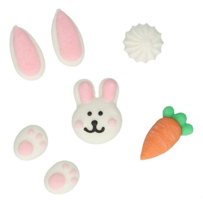 Sugar Decorations - Easter - 8pcs