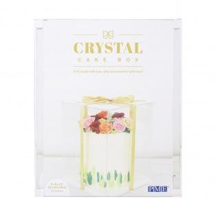 Boîte à gâteau transparente - 25 x 25 x 33cm - PME