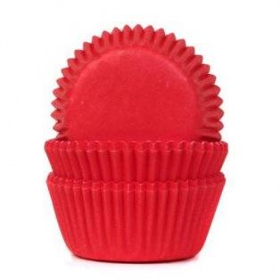 HoM Mini Baking cups Red Velvet - pk/60