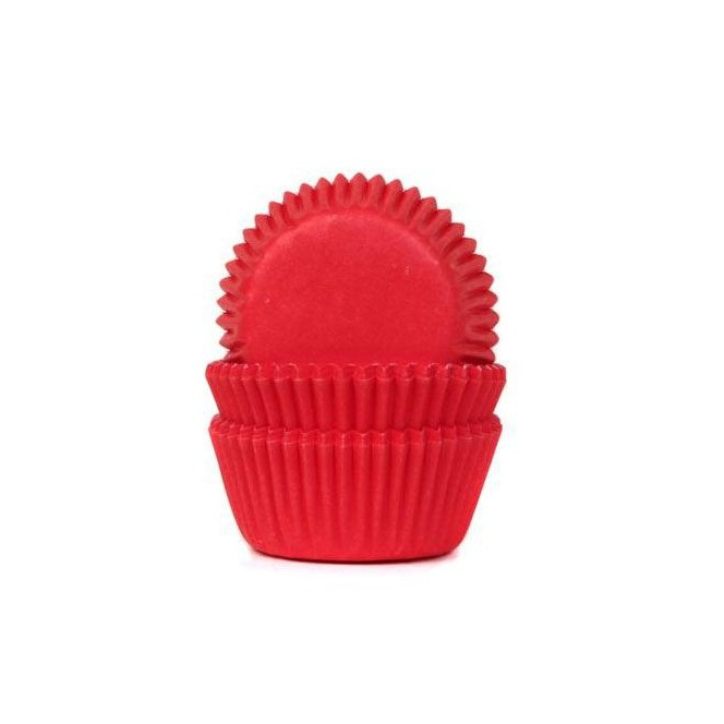 HoM Mini Baking cups Sky Blue - pk/60