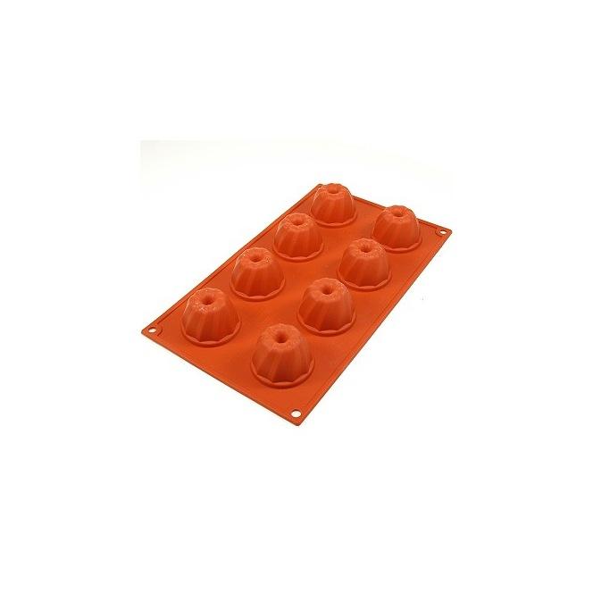 Silicone mold - 6 half spheres