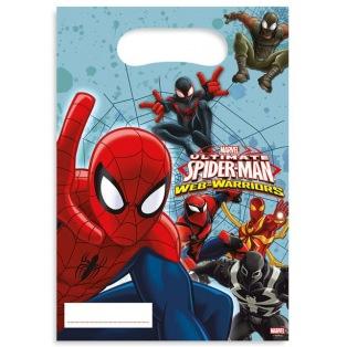 6 sachets de bonbons Spiderman