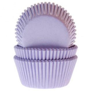 Caissettes à cupcakes - Lilas - 50pc - HoM