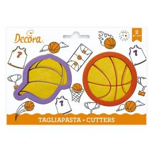Decora - Basketball cutter - 2 pcs