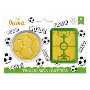 Decora - Soccer/Foot Cutter - 2 pcs