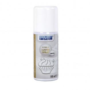 Spray lustrant blanc comestible - 100ml - PME