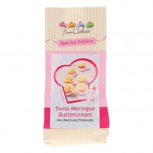 Mélange pour Crème au beurre à la meringue suisse - 400gr - FunCakes