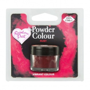 Poudre lustrante Rouge rubis Rainbow Dust 3g
