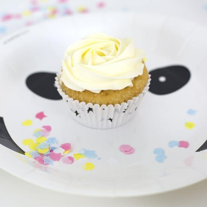 Caissettes à cupcakes - panda 50pcs