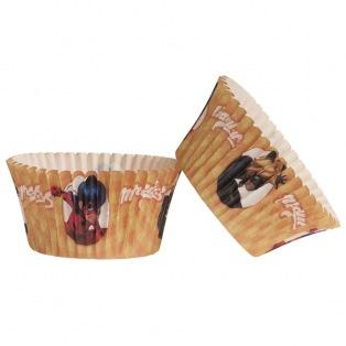 Dekora - Baking cups Miraculous - 25pcs