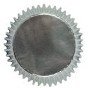 PME - Mini Baking cups Silver pk/45