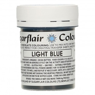 Sugarflair - Colorant chocolat - bleu ciel