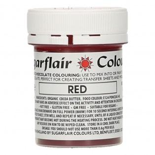 Sugarflair - Colorant chocolat - rouge