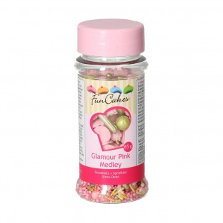Medley Glamour Pink 65g - FunCakes