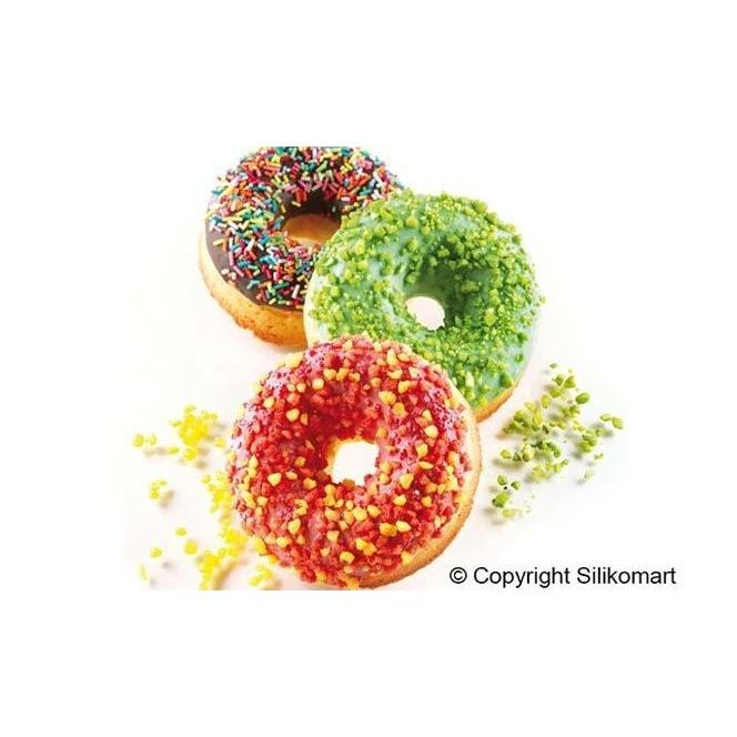 Silikomart Professional - Moule silicone - Donuts 100