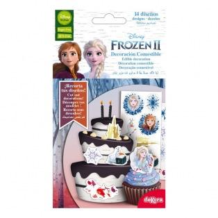 14 décorations sucrées - Frozen 2 - Dekora