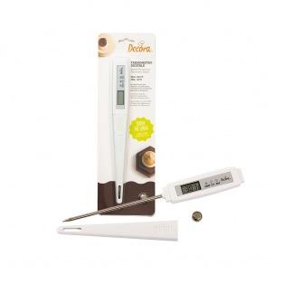 Digital Probe Thermometer - 12cm Probe - Decora