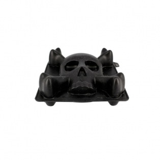 Silicone Mould - 3D Skull - Patisdécor