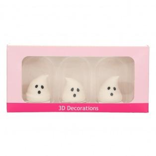 Sugar Decoration - Ghos/3pcs - Funcakes