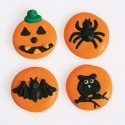 Halloween Button Sugar Decorations - 12pc- Culpitt