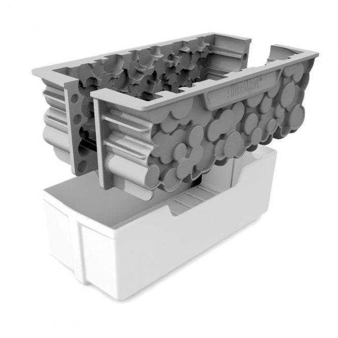 Silicone Mould 3D Design - Forêt - Silikomart