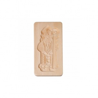 Speculoos Wooden Mould - Saint Nic - Patisdecor