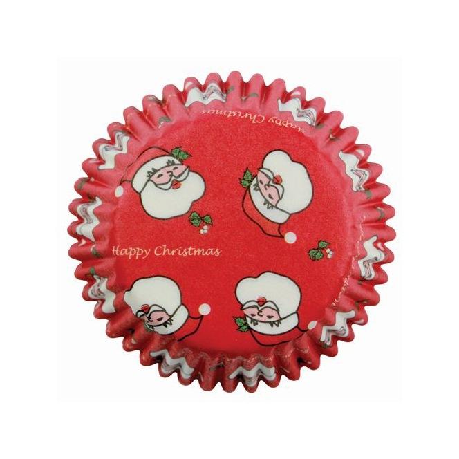 Baking Cups - Santa Claus/60pcs - PME