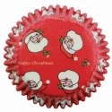 Baking Cups - Red Santa Claus/60pcs - PME