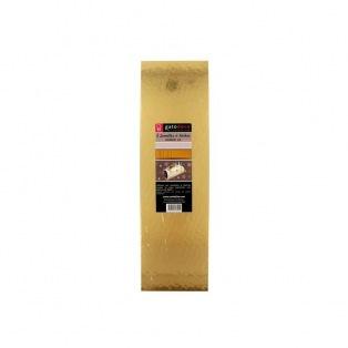 Yule Log Cake board - Gold/5pcs - Patisdecor
