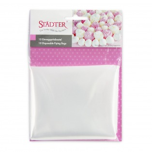 10 Disposable Piping Bags - 35cm - Städter