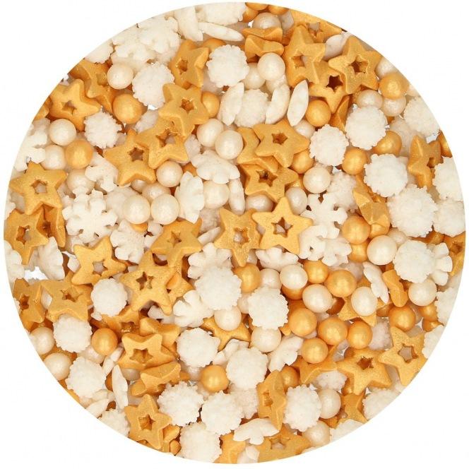 Sprinkle Medley - Gold - 50g - Funcakes