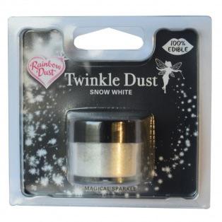 Schitterende Poeder Snow Dust Wit Rainbow Dust 3,5g