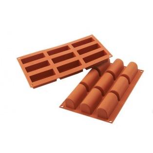 Silicone mold - 9 Mini Bûches