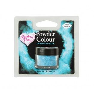 Kleurpoeder - Caribbean Blue - Rainbow Dust 4g