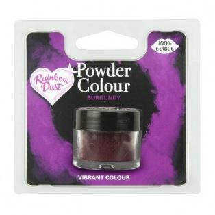 Dusting Powder- Burgundy - Rainbow Dust 2g