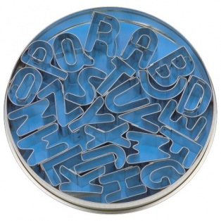 26 emporte-pièces alphabet - Städter