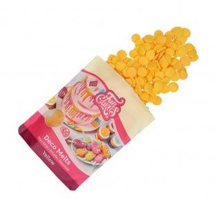 FunCakes Deco Melts -Yellow- 250g