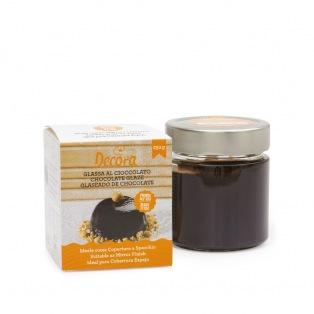 Glaçage miroir au chocolat - 250g - Decora