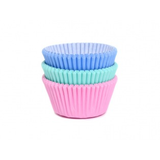 Baking Cups - Assorti Pastel 75pk - House of Marie