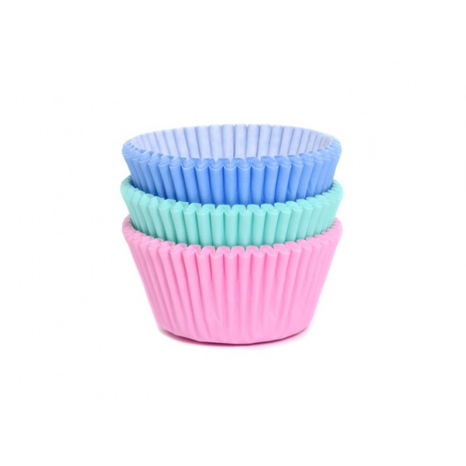 Baking Cups - Assorted Pastel 75pcs - House of Marie