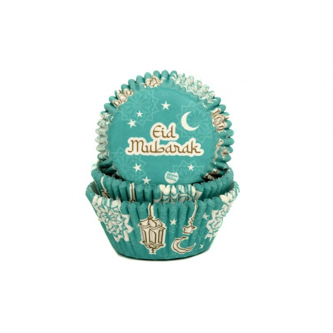 Baking Cups - Eid Mubarak - Pcs/50 - HoM